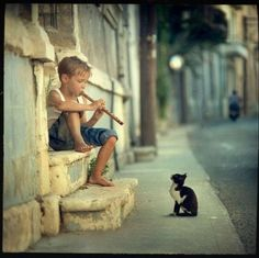 ...music lifts the heart of ALL creatures...