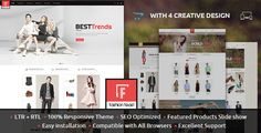 Fashion Feast #Opencart Responsive #Theme is specially designed for fashion designer clothes, Shoes, jewellery, beauty store, watches and cosmetic stores. Fashion Feast Opencart Responsive Theme is available in four different layout and colors combination. All sub pages are customized. It is very nice with its clean and professional look. http://themeforest.net/item/fashion-feast-opencart-responsive-theme/11899247