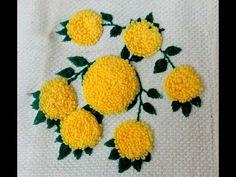 Marigold Stitch Embroidery Satrangi - YouTube