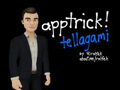 App Tricks Tellagami with Video background