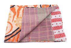 Hand-Stitched Kantha Throw, Elimu on OneKingsLane.com