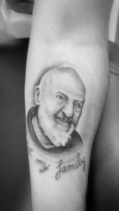 Padre pio tattoo