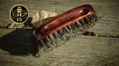 King Monkey Products Natural Asian Boar Bristle Beard & Hair Brush (SOFT) #KingMonkeyProducts