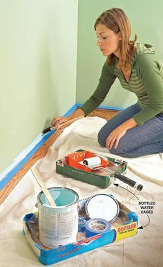 Mess-Proof Painting - 11 Tips for Faster, Neater Painting: http://www.familyhandyman.com/painting/tips-for-faster-neater-painting