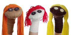 How to Make Sock Puppets.