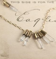 Crystal Points Bracelet: erica weiner