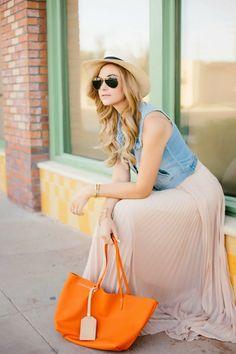 A Little Dash of Darling: Summer Wardrobe Essentials - Summer Street Style Fashion Looks 2017 Cute Fashion, Fashion Outfits, Womens Fashion, Style Fashion, Spring Summer Fashion, Spring Outfits, Summer Ootd, Summer Hair, Jean Court