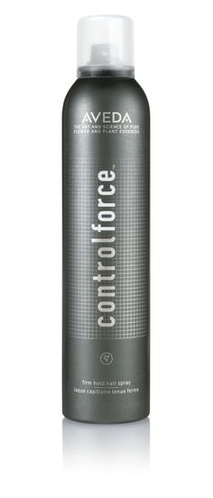 Aveda Control Force Hair Spray: Provides all-day firm hold & 24 hour humidity defense