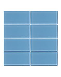 Bathroom Glass Subway Tile seafoam 3x6 glass subway tile | subway tiles, glass and kitchens