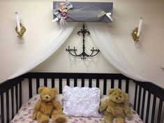 Bed Canopy Topper Upholstered Shabby Chic crib nursery baby Custom Canopy, Vintage Twins, Canopy Design, Small Shelves, Full Bed, Desk Set, Queen Beds, Cribs, Color Schemes