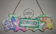Dragons Lair Designs O Baby Mine Kit using mdf stars just glue on paper & distress edges. Sentiment is from Dragons Lair Designs (DLD) Baby Sentiments.