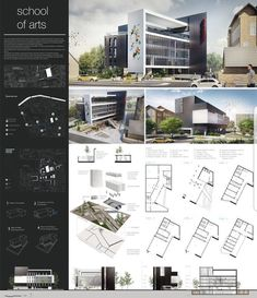School of arts final presentation board this board has a striking but. - school of arts final presentation board this board has a striking but dress models - Poster Architecture, Concept Board Architecture, Architecture Design, Plans Architecture, Architecture Presentation Board, Architecture Student, Architecture Portfolio, Sustainable Architecture, Landscape Architecture