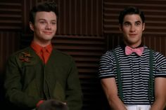 You look like tools. Big, gay, tools in need of a fish in the face. But that doesn't negate the fact I want your brooch collection, Kurt Hummel.
