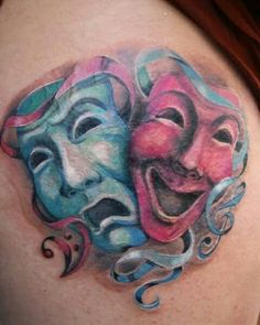 Maschere tattoo Vera Rao