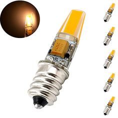 Bonlux 2w E12 Candelabra Led Bulb 12v Ac Dc Warm White Candelabra Base E12 Indicator Light 20w Halogen Replacement Bulb P Led Bulb Indicator Lights Candelabra