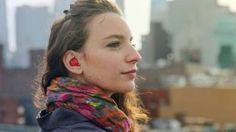 Waverly Labs' Pilot earpiece promises to translate languages in real time (Dezeen) New Technology Gadgets, Mobile Technology, Cool Technology, Wearable Technology, Wearable Device, Electronics Gadgets, Conversation Between Two People, New Earbuds, Pilot