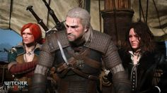 The Witcher The Witcher Wild Hunt Geralt of Rivia Triss Merigold Yennefer of Vengerberg The Witcher 3, The Witcher Wild Hunt, Witcher 3 Geralt, Dragon Age, Video Game News, Video Games, Witcher 3 Characters, Sword Of Destiny, Rpg