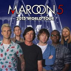 I'm so excited. I got tickets to see Maroon 5 today. #Maroon5VTour