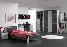 Tiener slaapkamer goodnight teens room on pinterest tes met and bureaus - Moderne tienerslaapkamer ...