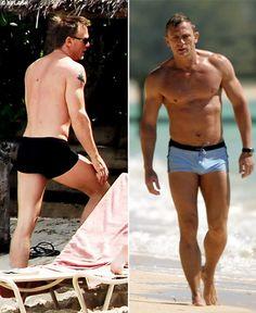 James Bond Style, New James Bond, Daniel Craig James Bond, Daniel Graig, Best Bond, Men's Leather Jacket, Celebrity Dads, Celebrity Style, Male Body