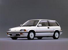 Honda Civic Hatchback. Gen 3  1983 - 1987 Cutie