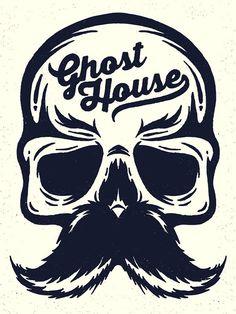 Ghost House Illustration on Behance