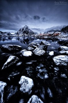 Winter time by Giorgosthalassinos Photos Of The Week, Winter Time, Landscape Photography, Travel Photography, Norway, Tours, River, World, Nature