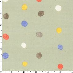 Nani Iro Double Cotton Gauze Colorful Pocho Mint Kokka Green  Made in Japan Polka Dots Polka Dot Double Gauze Cotton Mint Green Fabric by Owlanddrum on Etsy