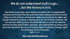 I Follow My Jesus: English Posts