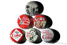 Coca-Cola vintage bottle caps