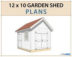 Shed Floor Plans, Shed Plans 12x16, Diy Shed Plans, Building A Storage Shed, Building Plans, 8x10 Shed, Farmhouse Sheds, Shed Blueprints, Craft Shed