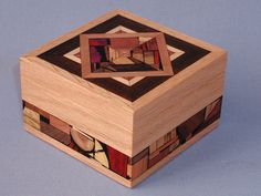 Handmade Wooden Boxes Ideas | Amy Gilron's Jewelry Collection