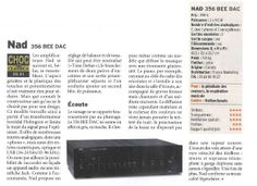 NAD C356 BEE DAC - HI-FI/Amplificateurs Stéréo - CinAudio France