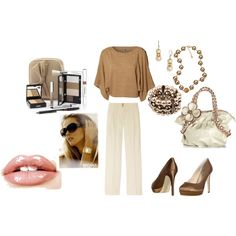 Basic Beige, created by jeannieingram on Polyvore