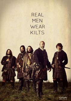 Love these kilted men!