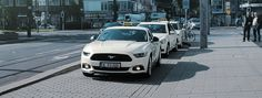 Das Ford Mustang Taxi