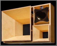 Skeletal speaker cabinet design