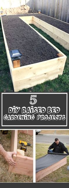 Raised Bed Garden Design Ideas find this pin and more on organic gardening how to grow a food garden in a small space with raised beds Find This Pin And More On Diy Landscape And Gardening Design Diy Raised Bed