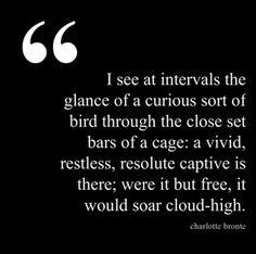 Charlotte Bronte Quote | The Book Habit