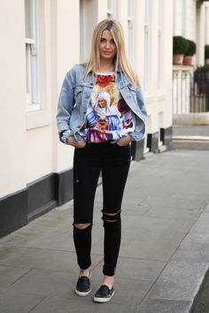 Assistant Buyer Natasha rips her own IDA Ivy Skinny Jeans and shows us how to style them  http://www.donnaida.com/blog/style-advice/how-to-rip-your-jeans