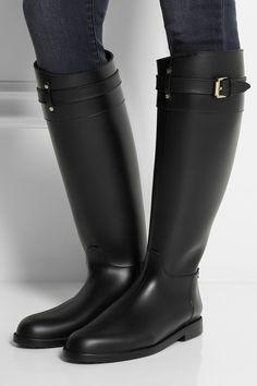 Mulberry|Riding-style Wellington boots|NET-A-PORTER.COM