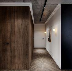 New apartment project in Żoliborz, Warsaw | OSOM group #osomgroup #osomteam #designer #homeoffice #satyathome #modern #style #homeinterior #interiorinspiration #mywork #elegant #mood #lovemywork #luxury #hall #homestyling #darkcolors #homeinspiration #gold #wood #inspiration #deco #interiors #apartment #furnituredesign #bedroom #dark #apartments