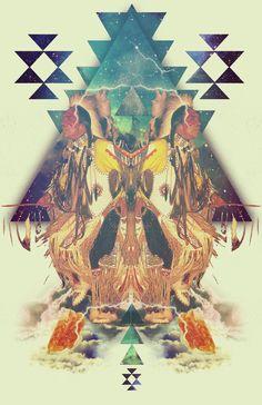 Chaman Magic by Carolina Niño, via Behance