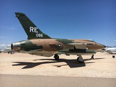 Republic F-105D Thunderchief (photo: Paul Woodford)