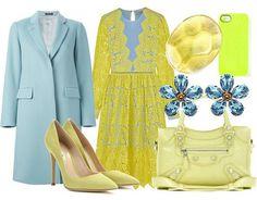 Come abbinare il giallo, 10 idee da copiare | Junglam Polyvore, Wedding, Color, Fashion, Casamento, Colour, Moda, La Mode, Weddings