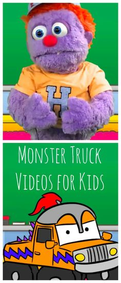 #MonsterTruck #Videos for Kids - Show and Tell