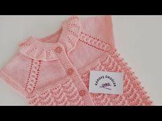 2 Yaş Bebek Yeleği Robası /KARDEŞ ÖRGÜLER - YouTube Baby Dress Patterns, Baby Knitting Patterns, Crochet Tote, Crochet Baby, Kids And Parenting, Sweaters, Women, Fashion, Kid Outfits