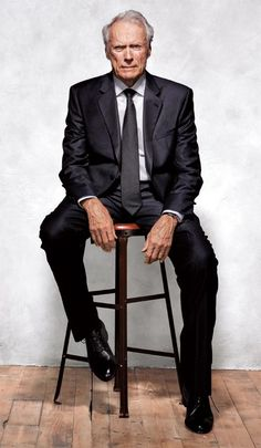 Clint Eastwood in a ChairYou can find Clint eastwood and more on our website.Clint Eastwood in a Chair Hollywood Icons, Classic Hollywood, Old Hollywood, Hollywood Actresses, Trevor Donovan, Clint And Scott Eastwood, Actor Clint Eastwood, Stallone Rocky, Cinema Tv