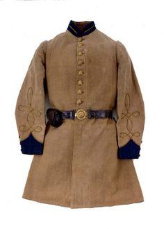 Uniform coat of Capt. T. Otis Baker of the 10th Mississippi Infantry