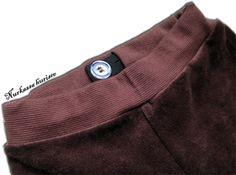 Nurkassa hurisee...: Säädettävän kuminauhan ompelu - ohje